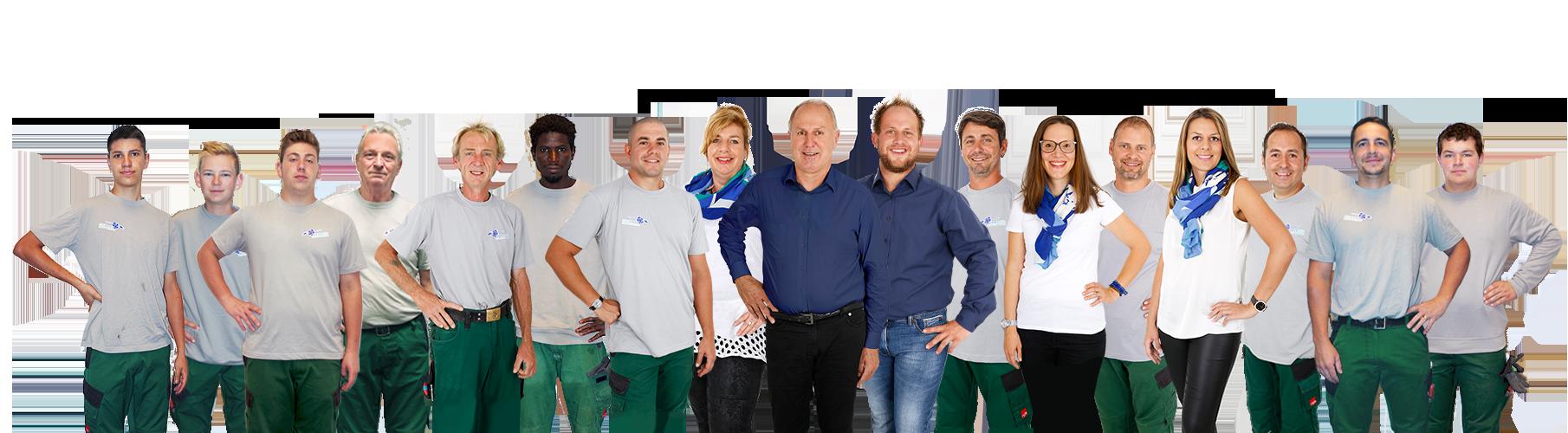 Das Immergrün Team 2020